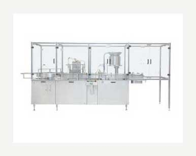 Vial Filling And Plugging Machine
