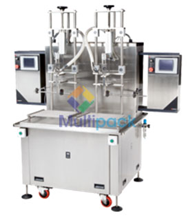 Net Weight Mass Meter Based Liquid Fillers Net Weight