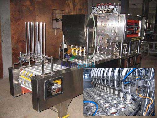 Yogurt Curd Linear Cup Filling And Sealing Machine Manufacturers & Exporters from India