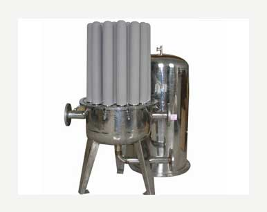 Multi tube candle filters